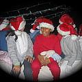 Crying Junior Santa Christmas Parade Eloy Arizona 2005-2013 by David Lee Guss