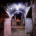 Crypt Of Church Of Holy Sepulchre by Daniel Blatt
