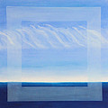 Crystal Blue Horizon - Center Panet by Diana Perfect