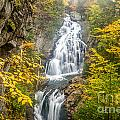 Crystal Cascade In Autumn by Susan Cole Kelly