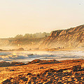 Crystal Cove At Sunset 1 by Angela Stanton