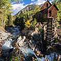 Crystal Mills Vertical by Michael J Bauer