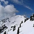 Crystal Mountain Bluest Sky by Kym Backland