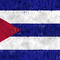Cuba Flag by World Art Prints And Designs