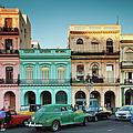 Cuba, Havana, Havana Vieja, Outside T by Walter Bibikow