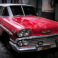 Cuban Vintage Red by Karen Wiles