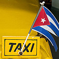 Cuba Taxi by Norman Pogson