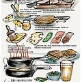 Cuban Sandwich by Lisa Owen-Lynch