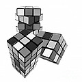 Cubed - Shades Of Grey by Kaye Menner