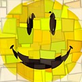Cubism Smiley Face by Dan Sproul