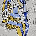 Cubist Expression by Andrea Kollo