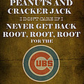 Cubs Peanuts And Cracker Jack  by Movie Poster Prints