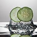 Cucumber Freshsplash by Steve Gadomski