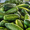 Cucumbers by David Morefield