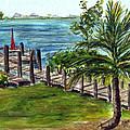 Cudjoe Dock by Clara Sue Beym