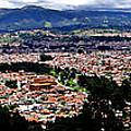 Cuenca And Turi Panorama by Al Bourassa