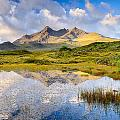 Cuillin Reflection by Michael Blanchette
