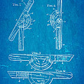 Cullmann Bevel And Square Patent  Art 1902 Blueprint by Ian Monk