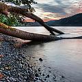 Cultus Lake Sunset by James Wheeler
