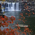 Cumberland Falls by Bj Hodges