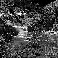 Cumberland Falls Black And White by Ken Frischkorn