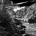 Cumberland Falls Seven Bw by Ken Frischkorn