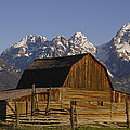 Cunningham Cabin Grand Tetons Wyoming by Pete Oxford