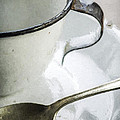 Cup And Spoon by Mary Ellen Hill