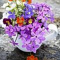 Cup Full Of Wildflowers by Edward Fielding