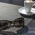 Cup Of Coffee And Sunglasses by Mats Silvan