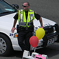 Cupcake And Balloon Checkpoint by Christy Usilton