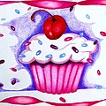 Cupcake And Ribbons by Kori Vincent