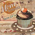 Cupcake Baking Sign I by Paul Brent