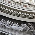 Cupola Border - Capitol Washington Dc by Christiane Schulze Art And Photography