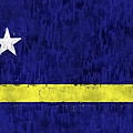 Curacao Flag by World Art Prints And Designs