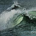 Curl Of The Wave by Deborah Benoit