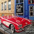 Curley's Corvette by Nunziata