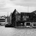 Currently Condemned Pier 64 On The Hudson River New York City by Joe Fox