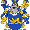 Currie Coat Of Arms Irish by Heraldry