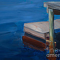 Currituck Dock by Paulette B Wright