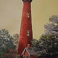 Currituck Lighthouse by Wanda Dansereau