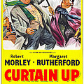 Curtain Up, Us Poster, Robert Morley by Everett