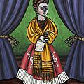 Curtains For Frida by Victoria De Almeida