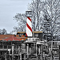Curtin's Wharf Burlington New Jersey by Bill Cannon