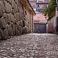 Cusco City Street by Bob Phillips