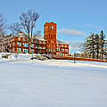 Cushing Academy In Winter by Donna Doherty