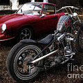 Custom Bike And Porsche by David B Kawchak Custom Classic Photography