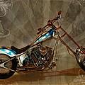 Custom Desperado Chopper 2014 by Terry Fleckney
