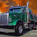 Custom Gravel Truck Catr0278-12 by Randy Harris