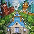 Custom Home Interiors - Ottawa Landmarks by Jill Alexander